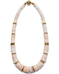 Lizzie Fortunato - Alabaster Necklace - Lyst