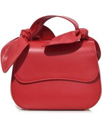 Simone Rocha - Double Bow Handle Little Bag In Red - Lyst