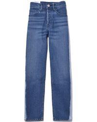 3x1 - W3 Higher Ground Crop Jean In Whisper - Lyst