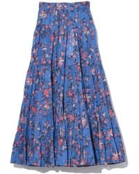 Étoile Isabel Marant - Elfa Skirt In Blue - Lyst