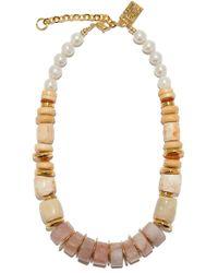 Lizzie Fortunato - Pink Sands Necklace - Lyst