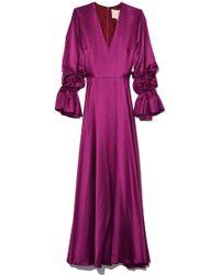 ROKSANDA - Lavonne Dress In Fuschia - Lyst