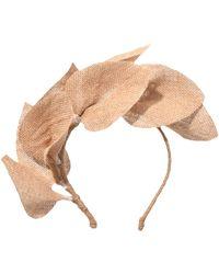 Gigi Burris Millinery | Jardin Headband In Natural | Lyst
