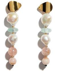 Lizzie Fortunato - Pastel Column Earrings - Lyst