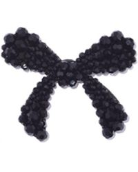 Simone Rocha - Beaded Bow Brooch In Jet - Lyst