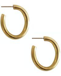 Laura Lombardi - Mini Curve Earrings - Lyst