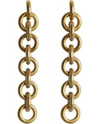 Rag & Bone Fede Earrings - Metallic