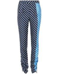 Tibi - Shirred Pleat Pants - Lyst