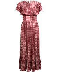 Baum und Pferdgarten - Jannie Dress In Tawny Pastel Check - Lyst