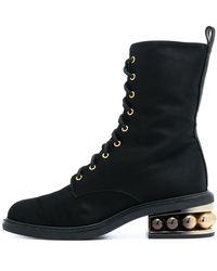 Nicholas Kirkwood - Black Casati Pearl Combat Boots - Lyst