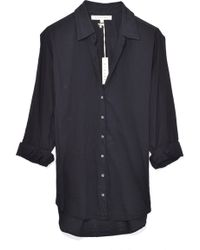 Xirena - Beau Shirt In Jet Black - Lyst