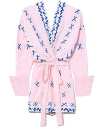 All Things Mochi - Baby Pink Magda Playsuit - Lyst
