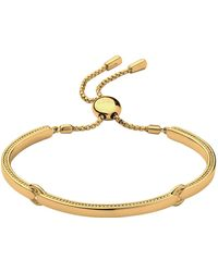 Links of London - Narrative Yellow Gold Bracelet - Lyst