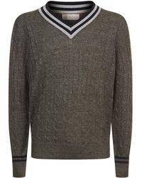 Brunello Cucinelli - V-neck Sweater - Lyst