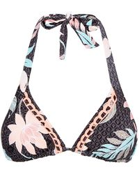 Seafolly | Bali Hai Triangle Bikini Top | Lyst