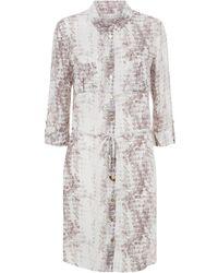Heidi Klein - Montserrat Mini Shirt Dress - Lyst