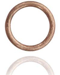 Annoushka - Hoopla Small Rose Gold Pendant - Lyst