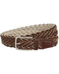 Harrods - Woven Leather Belt - Lyst