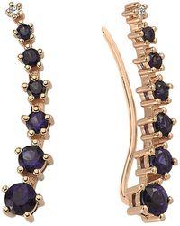 Bee Goddess | Mondrian Sapphire Ear Cuffs | Lyst