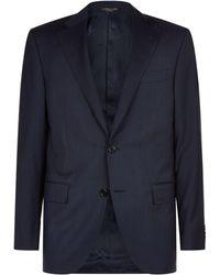 Corneliani | Striped Virgin Wool Suit | Lyst