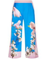 Ted Baker - Debbae Harmony Satin Culottes - Lyst