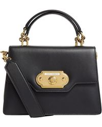 Dolce & Gabbana - Small Leather Welcome Top Handle Bag - Lyst