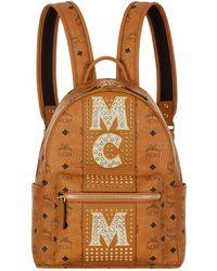 MCM - Medium Dual Stark Embellished Backpack - Lyst