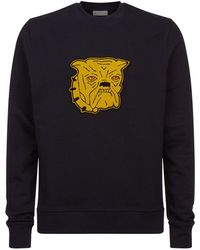 Sandro | Bulldog Patch Sweater | Lyst