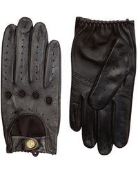Dents - Touchscreen Leather Driving Gloves - Lyst