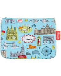 Harrods - London Map Cosmetic Bag - Lyst