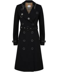 Burberry - Kensington Heritage Ring-pierced Trench Coat - Lyst