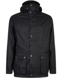 Barbour - Ridge Hooded Wax Jacket - Lyst