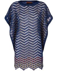 Missoni - Lurex Knit Kaftan - Lyst