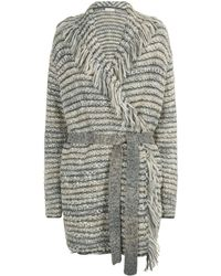 Tory Burch - Pierce Wrap Cardigan - Lyst