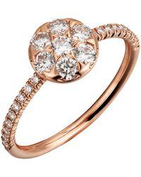 Cartier - Pink Gold Etincelle De Ring - Lyst