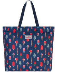 Cath Kidston - Ice Cream Tote Bag, Blue - Lyst