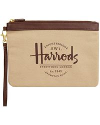 Harrods - Sandringham Clutch Bag - Lyst