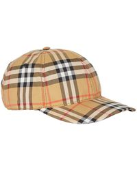 Burberry - Vintage Check Cap - Lyst