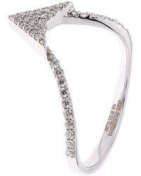 Bee Goddess - Eros Arrow Head Diamond Ring - Lyst