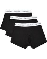 Calvin Klein - Stretch Cotton Trunk (pack Of 3) - Lyst