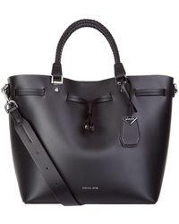 MICHAEL Michael Kors - Blakely Leather Messenger Bag - Lyst