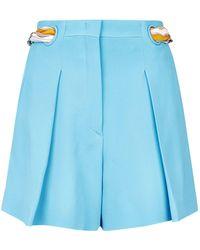 Emilio Pucci - Colour-block Shorts - Lyst