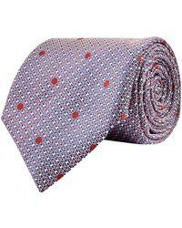 Canali - Woven Silk Tie - Lyst