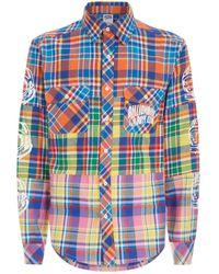 BBCICECREAM - Check Logo Sleeve Shirt - Lyst