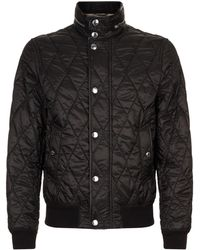 Burberry - Quilted Bomber Jacket - Lyst