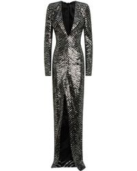 Alexandre Vauthier - Long Sequined Dress - Lyst