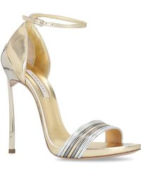Casadei - Techno Blade Sandals 120 - Lyst
