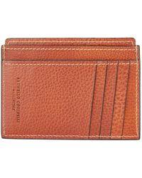 Brunello Cucinelli - Leather Vertical Card Holder - Lyst