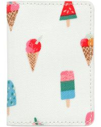 Cath Kidston - Lollies Two-fold Ticket Holder - Lyst