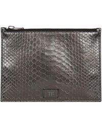 Tom Ford - Small Python Pouch - Lyst